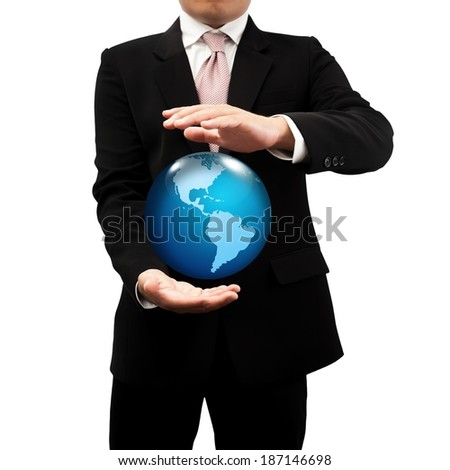 Businessman with a global network.