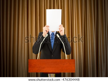 stage fright research paper Strategies, the study suggests ice-breaker mini-presentations throughout the  semester  overcome their stage fright as well as to deliver a more organized  speech  communication skills ii (which focuses on essay writing and  introduction to.