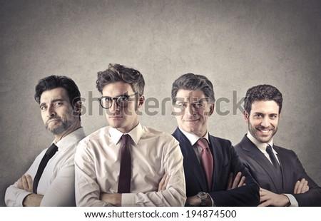 businessmen team - stock photo