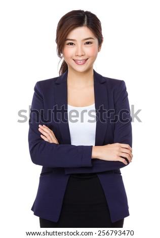 Businesswoman portrait - stock photo