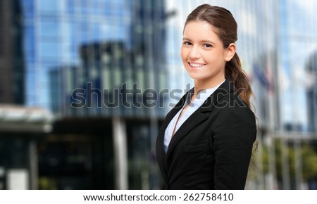 Businesswoman portrait - stock photo