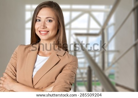 Businesswoman, Women, Portrait. - stock photo