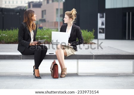 businesswomen  - stock photo