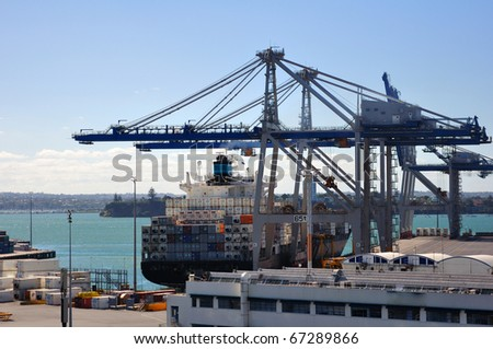 Busy active terminal - stock photo