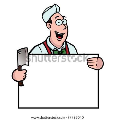 Butcher Cartoon Stock Images Royalty Free Images