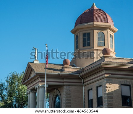Butte County courthouse at Belle Fourche, South Dakota