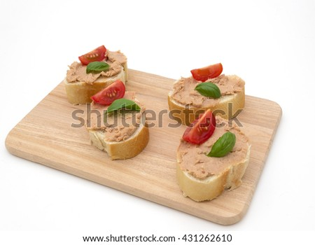 butterbrot with pate