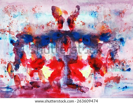 Butterfly background or Interesting abstract background - stock photo