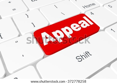 "Button ""Appeal"" on keyboard"