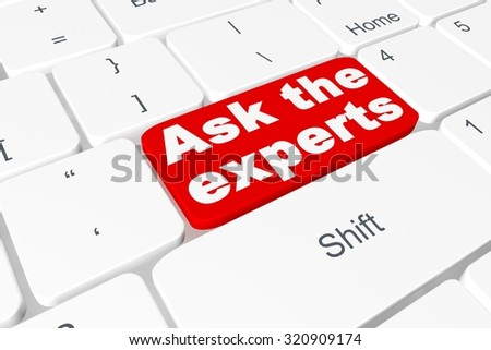 "Button ""ask the expert"" on keyboard"