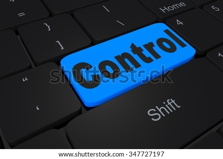 "Button ""control"" on keyboard"