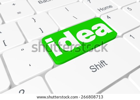 "Button ""idea"" on keyboard"