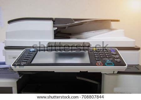 Button of copy machine, A photocopier (also known as a copier or copy machine) is a machine that makes paper copies of documents and other visual images quickly and cheaply.