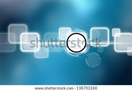 button on a touch screen interface