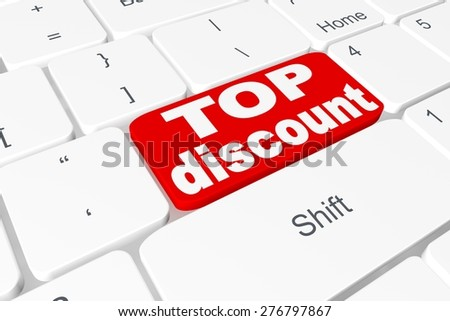 "Button ""top discount"" on keyboard"