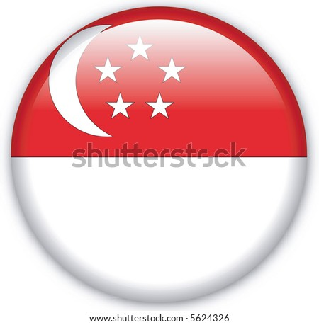 Button with map from Sierra Leone - stock photo