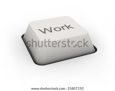 button Work (image can be used for printing or web) - stock photo