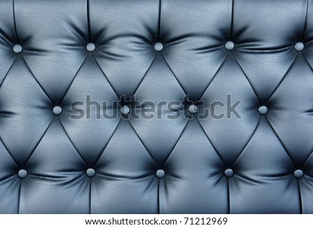 Buttoned leather pattern of the highest quality. - stock photo