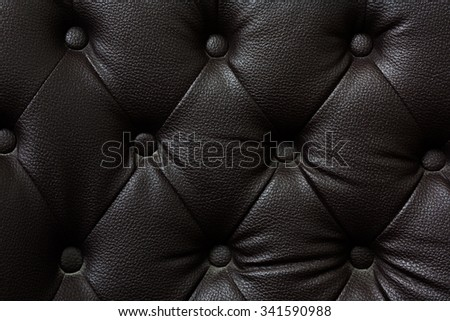 Buttoned on the black Texture. Repeat pattern - stock photo