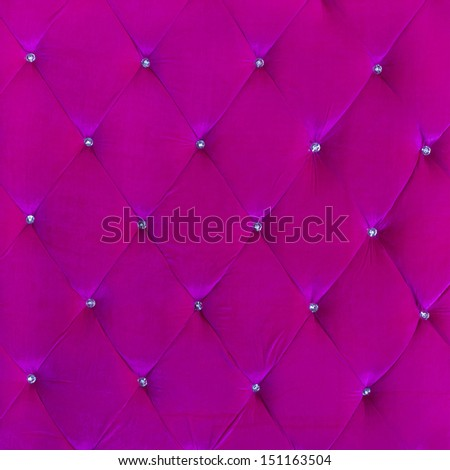 Buttoned on the pink Texture. Repeat pattern - stock photo