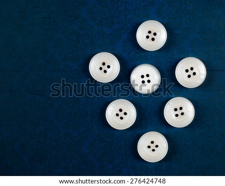 buttons. Various sewing buttons. Sewing buttons, Plastic buttons, Colorful buttons background, Buttons close up, Buttons background, Buttons on white background - stock photo