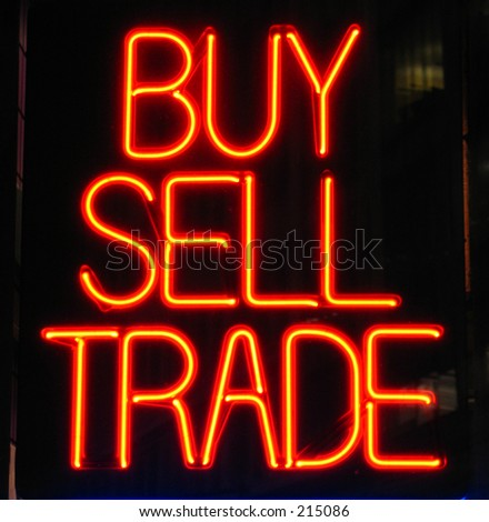 buy sign - stock photo