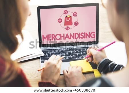Buying Consumerism Discount Merchandising Shopping Concept - stock photo