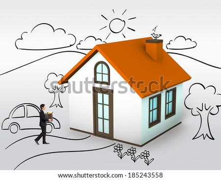 Buying first house, dream home
