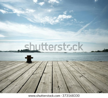 by the Sea - stock photo