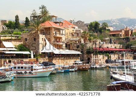 Byblos Town and Harbor, Lebanon