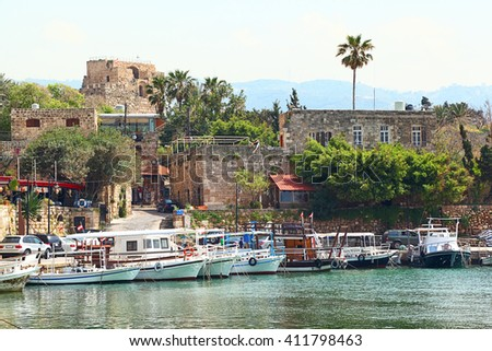 Byblos Town and Harbor, Lebaon
