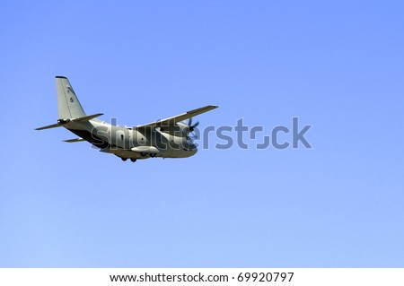C-27J Spartan - Slow flight with open back door