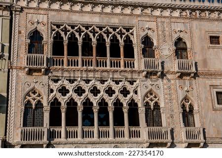 Ca' D'Oro, Venice, Veneto, Italy - stock photo