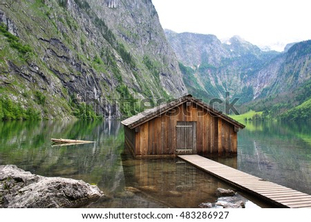 Cabin in mountains. Mountain Cabin Stock Images  Royalty Free Images   Vectors