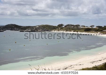 Cabins On The Coast Of Rottnest Island In Western Australia/Beachfront  Stay/ROTTNEST ISLAND