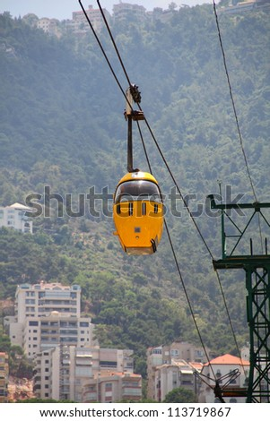 Cable Car/Flying Yellow Cab
