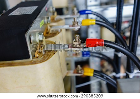 cable connection inside electrical switchboard stock photo royalty rh shutterstock com Panelboard Wiring Wiring a Switch
