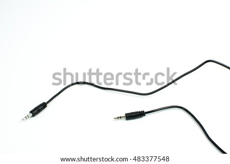 cable Connectors isolate on white background