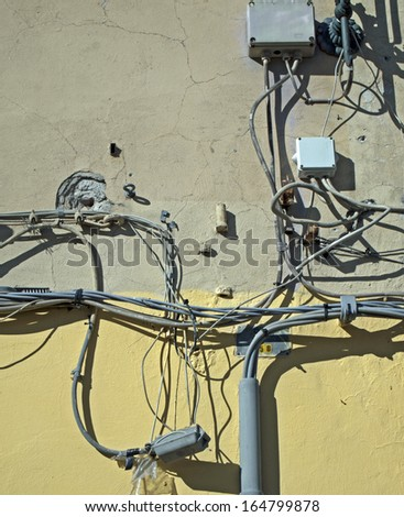 Cables, outdoor installation