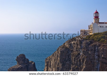 Cabo Sao Vicente Lighthouse near Sagres