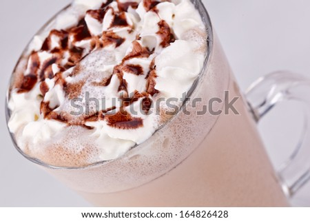 Cacao drink - stock photo