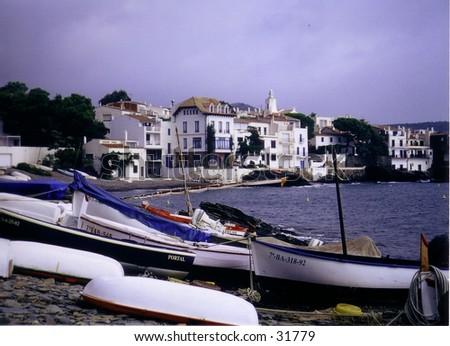 Cadaques, Spain. - stock photo