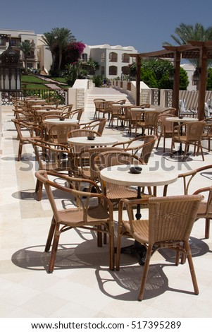 Cafeteria, Outdoor Cafe Tables And Chairs, Outdoor Restaurant Coffee Open  Air Cafe, Chairs