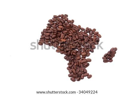 caffee africa - stock photo
