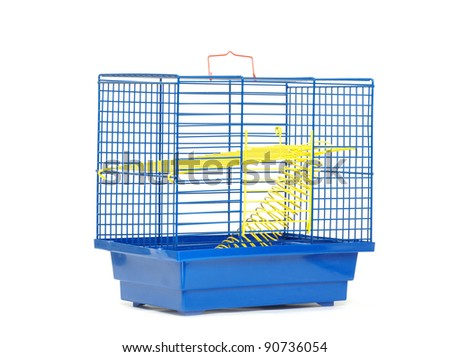cage isolated on the white background