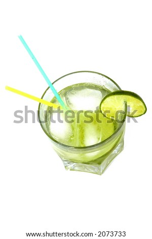"Caipirinha Drink: Famous Brazilian Drink, with ""white rum"" (cachaca), lemon, suggar and ice !"