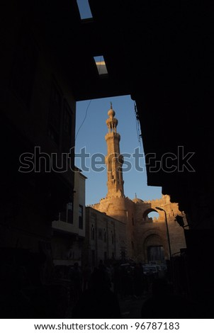 Cairo Mosque - stock photo