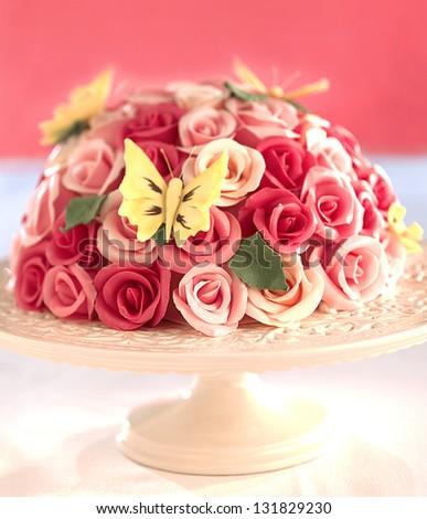 cake - stock photo