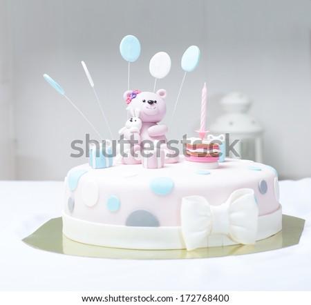 Cake bear - stock photo