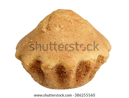 Cake it is isolated on a white background